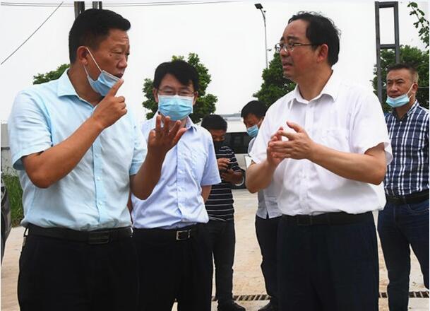 邓卓海书记调研永力通新厂房